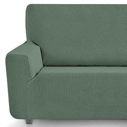 Eiffel Textile elastischer Sofabezug 1 Platz 41x21x6 cm grün