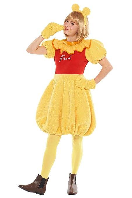 ab314121a3b8 Amazon.com  Disney s Winnie the Pooh Costume - Teen Women s Std Size   Clothing