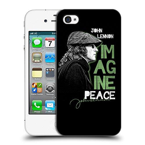 Official John Lennon Imagine Peace Key Art Hard Back Case for Apple iPhone 4 / 4S