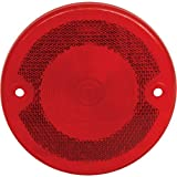 MACs Auto Parts 48-31361 Ford Pickup Truck Tail Light Lens - Round - FoMoCo In Block Letters On Lens - Flareside Pickup