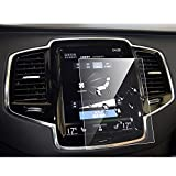 LFOTPP Volvo V90 XC90 S90 Sensus Navigation System Car Navigation Screen Protector Glass, [9H] Tempered Glass Center Touch Screen Protector Against Scratch High Clarity