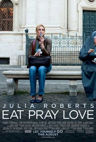 Amazon.com: Eat Pray Love 27 x 40 Movie Poster - Style B: Lithographic  Prints: Posters & Prints