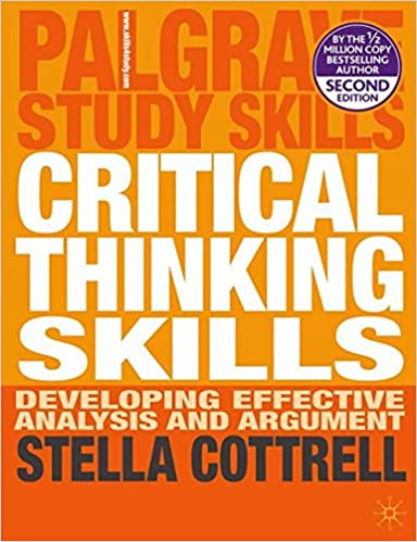 critical thinking skills stella cottrell 2005