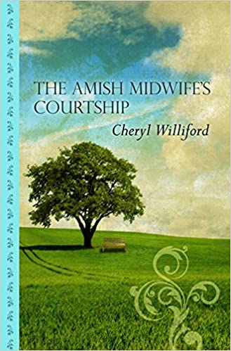 The Amish Midwife's Courtship (Thorndike Large Print Gentle Romance Series)