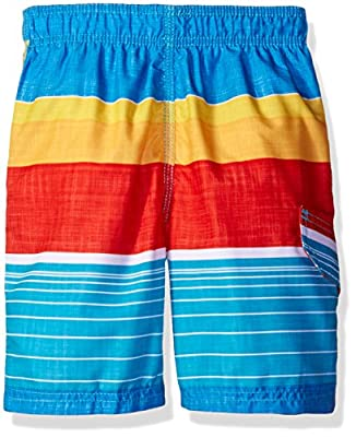 Kanu Surf Boys' Viper Stripe Swim Trunk
