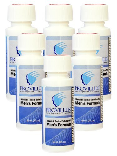 Provillus Hair Support For Men Minoxidil Solution Six Month