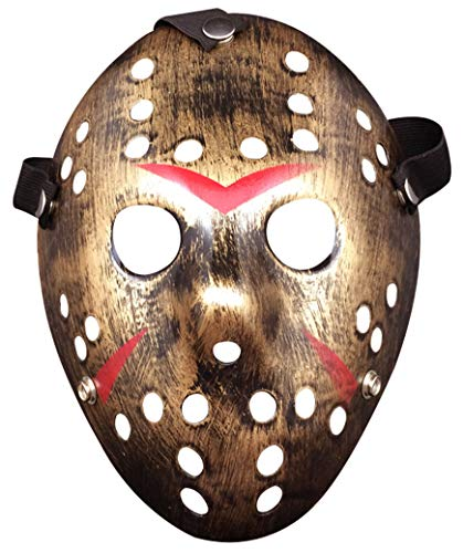 Lovful Costume Cosplay Halloween Prop Party Mask for Adult,Copper,One Size]()