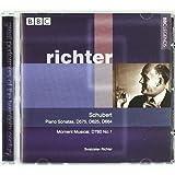 Richter : Sonates pour piano, Moment musical [Import anglais]