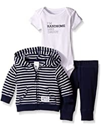 Carter's Baby Boys' 3 Piece Print Cardigan Set (Baby)