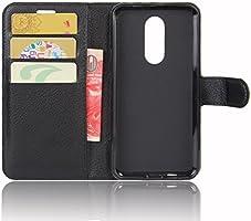 Guran® Funda de Cuero PU para Wiko Wim Lite Smartphone Función de ...