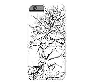abstract winter tree iPhone 6 Plus White Barely There Phone Case