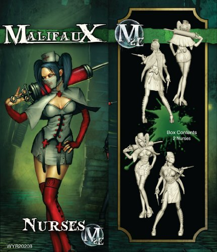 Wyrd Miniatures 20208 Resurrectionists Nurses - 2