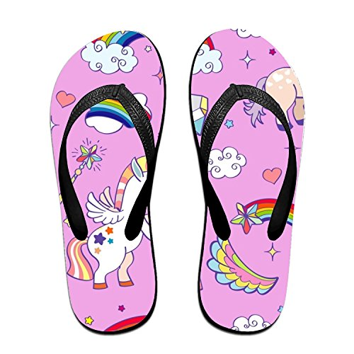 ROOMY Good Luck Flip Flops Funny Sandy Sandals Flat Thong Sandals Sandy Slipper Mat for Men Women B07FF86GS6 Shoes 683107