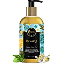 Oriental Botanics Relaxing Body Massage Oil For Pain Relief