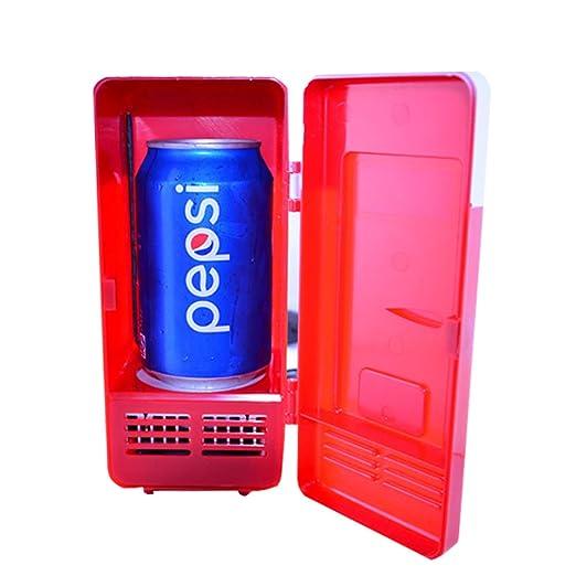 HNFYJQ Mini refrigerador para automóvil USB, refrigerador portátil ...