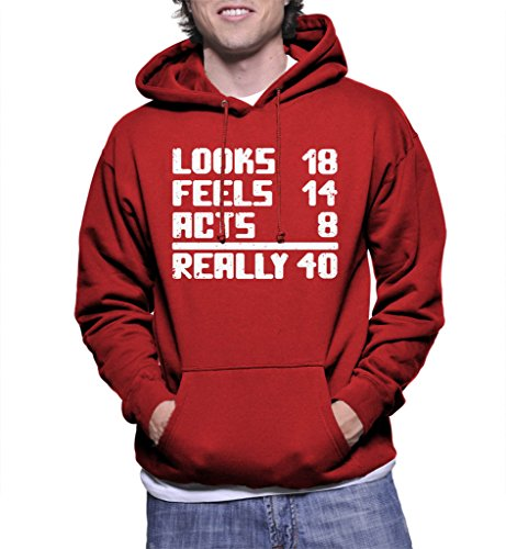 40th Birthday Pullover Hoodie - 2