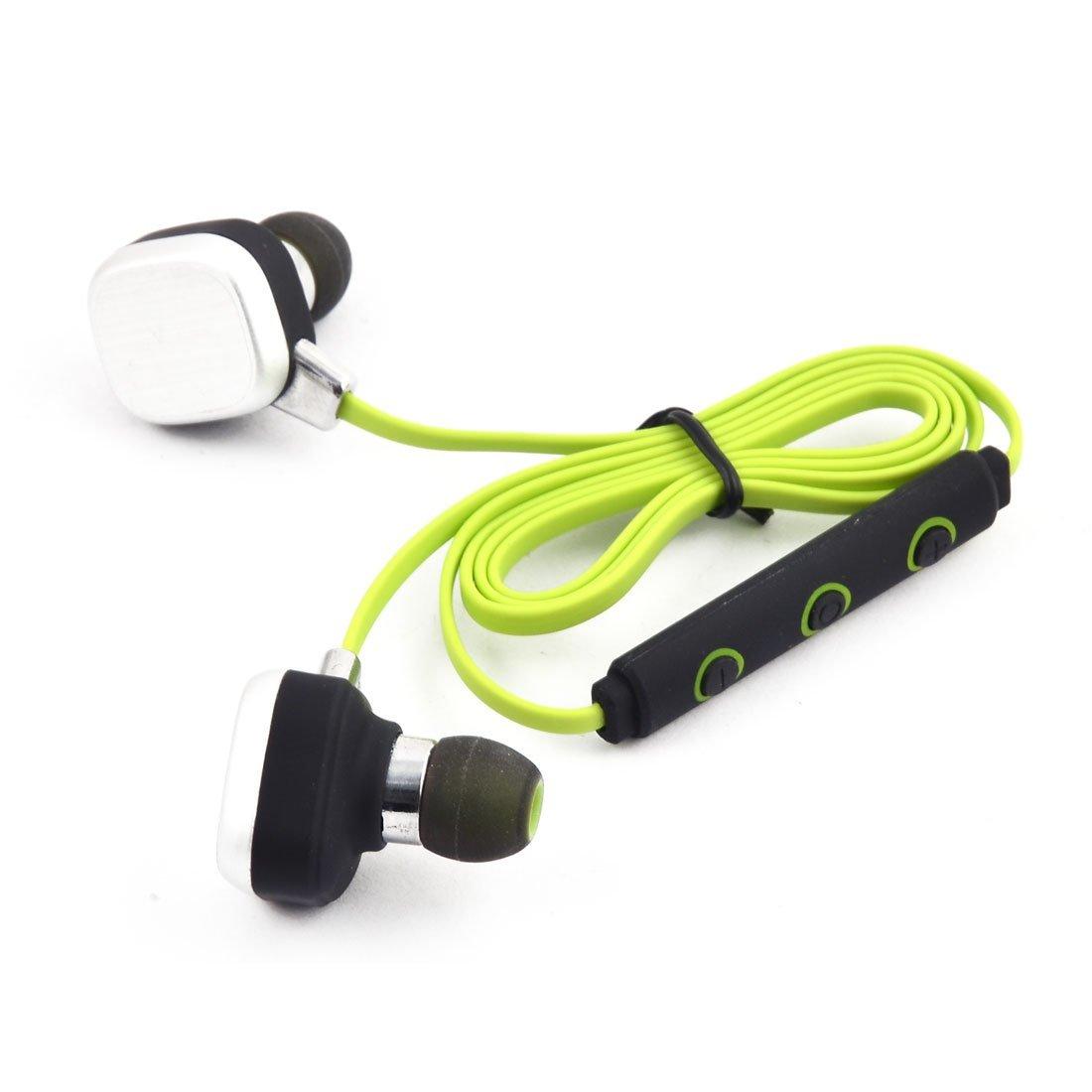Amazon.com: eDealMax Estéreo Aire Libre Deporte Teléfono inalámbrico en la oreja de cancelación de ruido Auricular Bluetooth Verde: Electronics