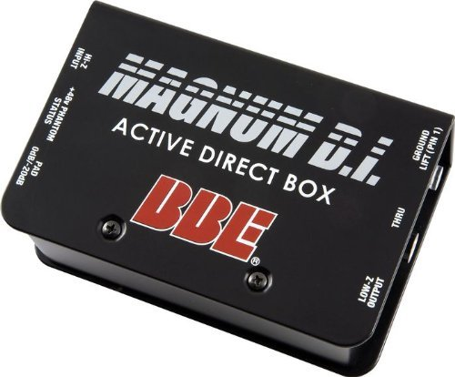 BBE DI50X Active Direct Box by BBE Sound