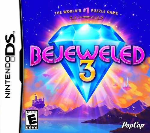 Bejeweled 3 - Nintendo DS - Cd Puzzle Game