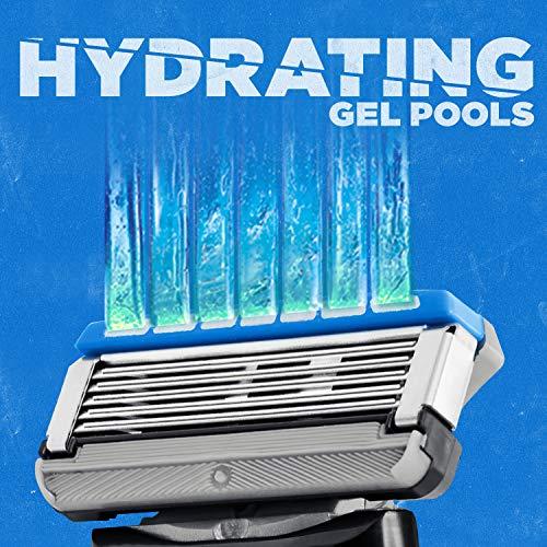 Schick Hydro Sense Hydrate Mens Razor Blade Refill with Hydrate Gel, Includes 12 Razor Blades Refills by Schick (Image #4)