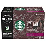 Starbucks Italian Roast K-Cup, 10 Count (Pack of 6)