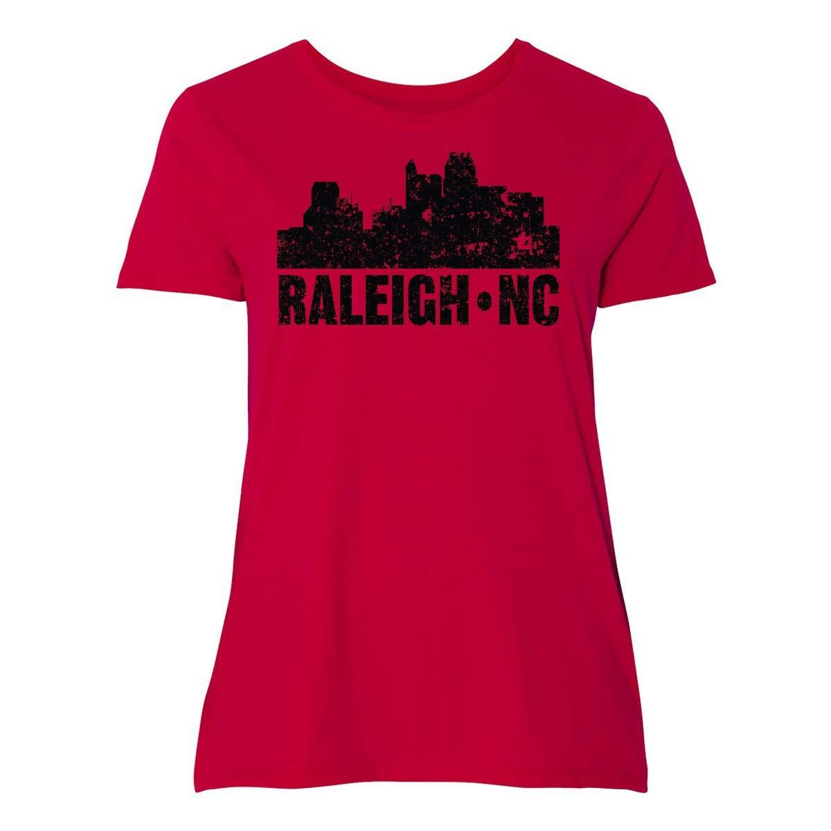 Raleigh Skyline Grunge Plus T Shirt 355f9 9935