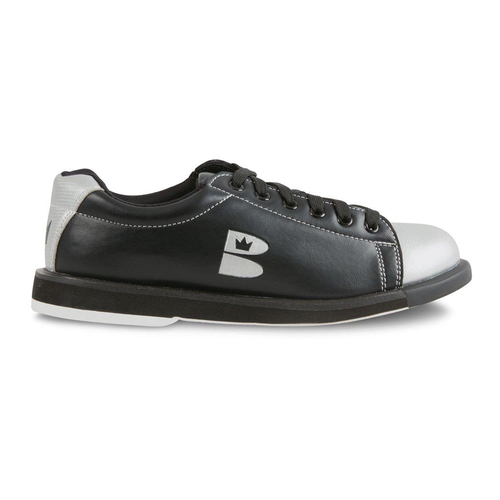 Brunswick TZone Youth Black/Silver Size 4/5.5