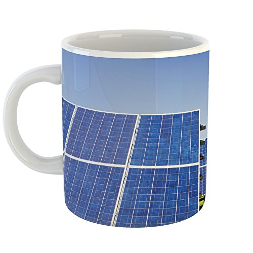 Westlake Art - Panel Solar - 11oz Coffee Cup Mug - Modern Picture Photography Artwork Home Office Birthday Gift - 11 Ounce (5100-2D1D8) by Westlake Art