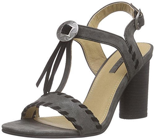 Esprit Kali Sandal - Sandalias de tobillo Mujer Negro - negro (001 black)