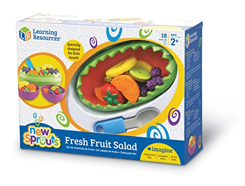 Learning Resources New Sprouts Fresh Fruit Salad Set