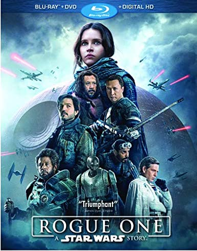 Amazon Com Rogue One A Star Wars Story Blu Ray Dvd Digital Hd Felicity Jones Diego Luna Alan Tudyk Donnie Yen Wen Jiang Ben Mendelsohn Guy Henry Forest Whitaker Riz Ahmed Mads Mikkelsen Jimmy Smits Gareth