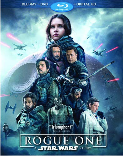 Rogue One: A Star Wars Story [Blu-ray+DVD+Digital HD] (Star Wars The Force Awakens Collectors Edition)