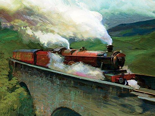 Amazon.com: Harry Potter Hogwarts Express - Lienzo ...