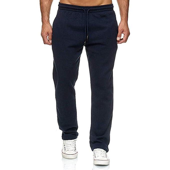 ღLILICATღ Pantalón de Cordón para Hombre Pantalones Casual ...