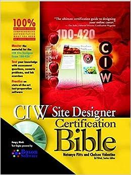 Descargar Libro Torrent Ciw Site Designer Certification Bible Patria PDF
