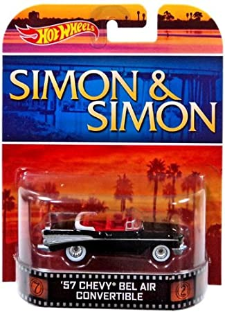 Amazon 1957 Chevrolet Bel Air Convertible Simon Simon Hot