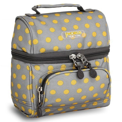J World New York Corey Lunch Bag, Candy Buttons, One Size