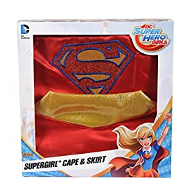 - 51pPQROr7IL - Imagine by Rubies DC Superheroes Supergirl Boxed Cape & Skirt Set