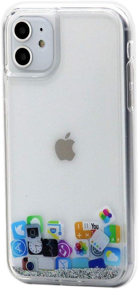 COVER CUSTODIA GLITTER Morbida Silicone GEL per Apple iPhone 11