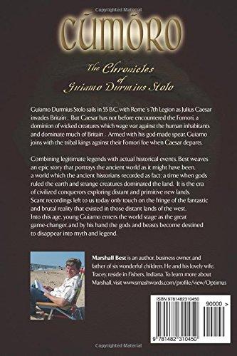 Cumoro (The Chronicles of Guiamo Durmius Stolo Book 2)