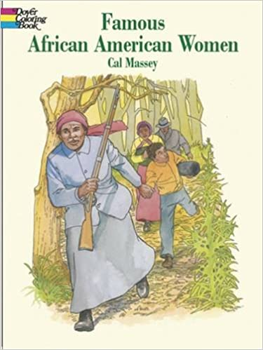 Famous African American Women Dover History Coloring Book