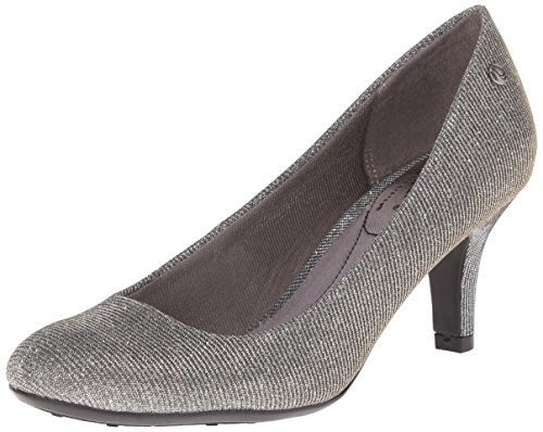 Women's Pump Pewter LifeStride Shiny Parigi wq10Fgg