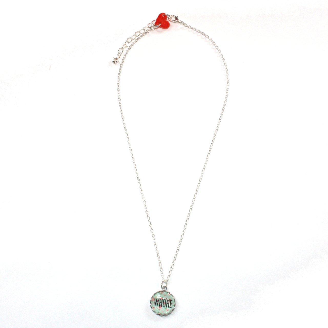 Motif 7 Cherry Pute Collier Floral45 Sour Femme Cm Chaîne ARjLq435