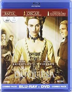 La  duquesa (combo dvd+br) [Blu-ray]