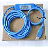 USB-SC09-FX programming Cable for Mitsubishi FX series PLC USB to RS422 adapter