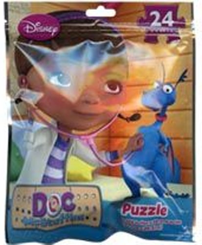 12-Pack Disney Doc McStuffins 24-Piece Bagged Puzzles on the Go - 12pk Bagged