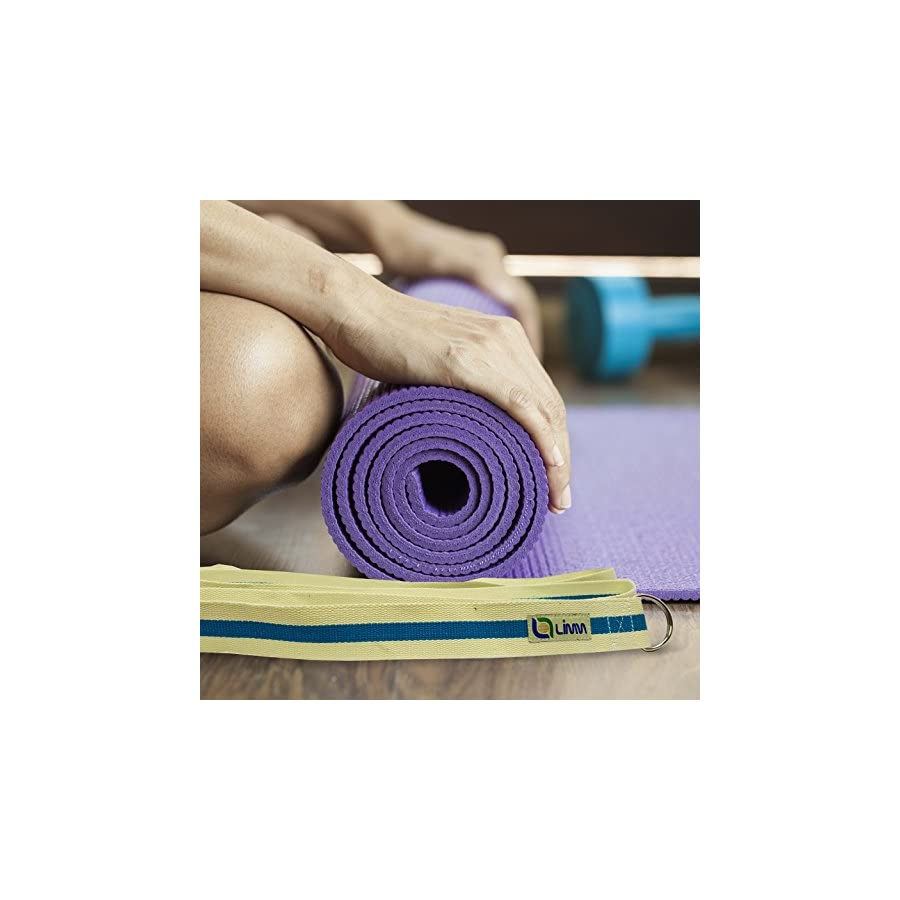 Limm Yoga Strap Stretch Band to Aid Flexibility and Strength
