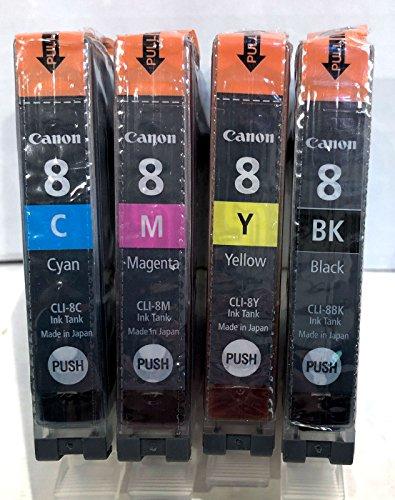 Price comparison product image Canon CLI-8 4-Color Ink Tanks