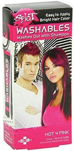 Splat - Tinte para el cabello (42,6 ml), color rosa brillante ...
