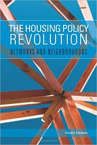The Housing Policy Revolution: Networks and Neighborhoods September 4, 2009